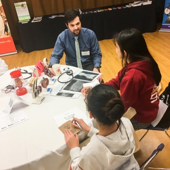 U.S. Department of Energy STEM Mentoring Café of 2018, co-hosted by NETL and College of Science, Oregon State University.