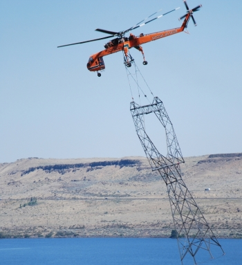 Power Marketing Administration Helicopter