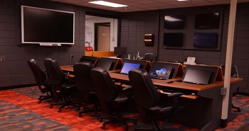 The upgraded Emergency Operations Center is located in the X-1020 Building at the former Portsmouth Gaseous Diffusion Plant site.