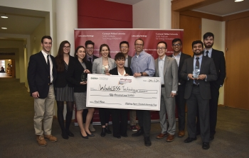 WasteLESS Technology recieves $50,000 check as part of Allegheny Cheantech UP