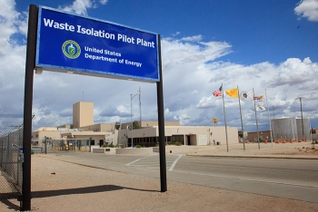 Waste Isolation Pilot Plant (WIPP) site in New Mexico