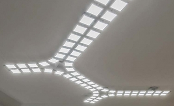 image of a ceiling mounted oled