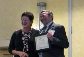 Alison Silverstein (NASPI Project Manager) & Dr. Allen Goldstein (NIST)