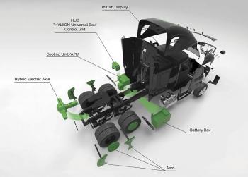 Image of Hyliion technology.