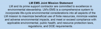 LM EMS Joint Mission Statement