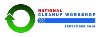 2018 National Cleanup Workshop logo