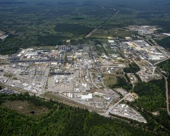 Savannah River Site aerial view