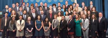 The NNSA Graduate Fellowship Program graduating class of 2018.