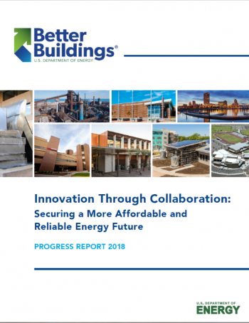 Cover of the Better Buildings Progress Report.