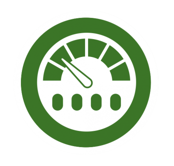 Icon of a dashboard.