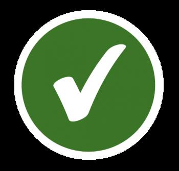 Icon of a check mark.