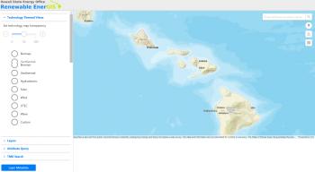 Hawaii's Renewable EnerGIS mapping tool