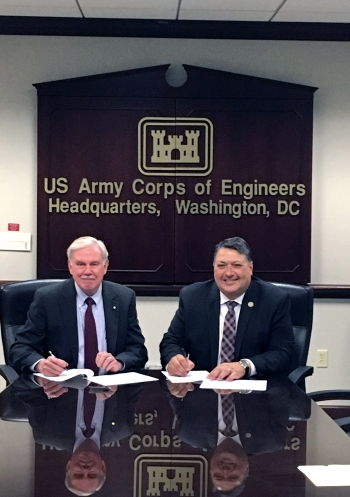 LM and USACE Agree to Share Resources and Services Nationwide
