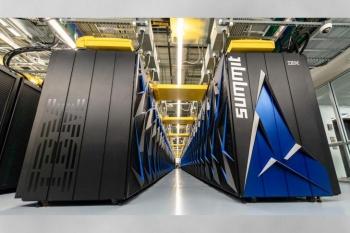 Summit supercomputer at Oak Ridge National Laboratory