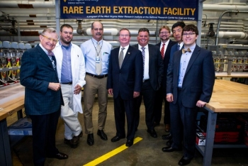 ASFE Winberg at REE Extraction Facility