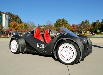 3D printed car from Oak Ridge National Laboratory and Stati