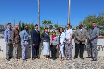 NNSA's 2018 Mid-level Leadership Development Class visits the Nevada Field Office.
