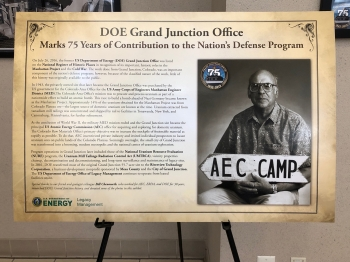 LM office in Grand Junction, Colorado, shares historical photos of its role in WWII and the Cold War.