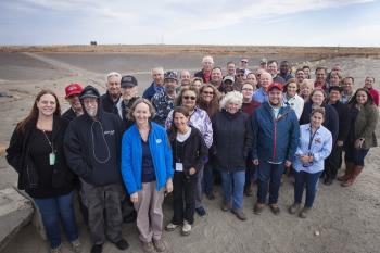 EM SSAB Members Visit Cleanup Site