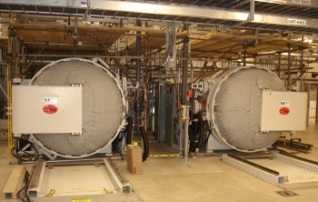 The cylinder transfer system.