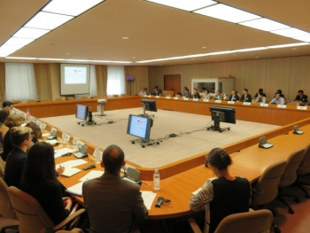 U.S. and Japan interagency representatives participate in the NSWG Plenary Meeting.