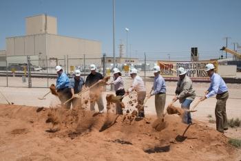 Waste Isolation Pilot Plant Ventilation Groundbreaking