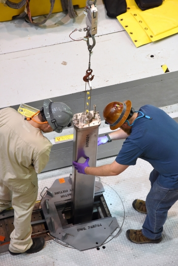 The first fueled experiment at Idaho National Laboratory's transient reactor test facility