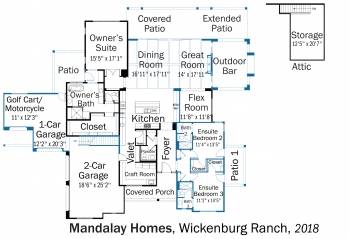 DOE Tour of Zero: Wickenburg Ranch by Mandalay Homes floorplans.
