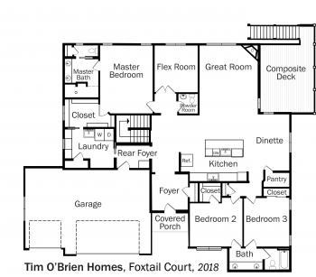DOE Tour of Zero: Foxtail Court by Tim O'Brien Homes floorplans.
