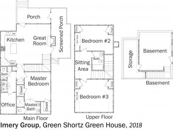 DOE Tour of Zero: Green Shortz  Green House by Imery Group flooplans.