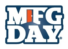 "The letters ""MFG DAY"""