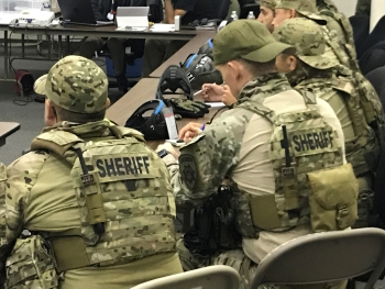 NNSA trained more than 250 law enforcement personnel what to do in case of radioactive material theft.