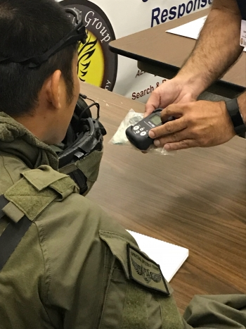 First responders participating in the Urban Shield law enforcement exercise learned how to respond to radioactive material theft.