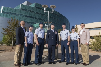 U.S. Air Force Academy MAC participants at Los Alamos National Laboratory.