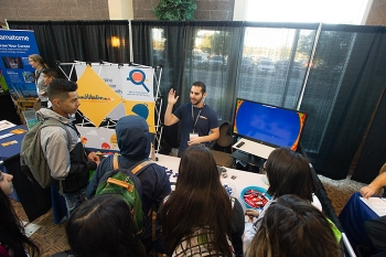 More than 1,000 local high school students and job seekers attended the Connect Tri-Cities event.