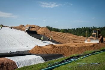 Savannah River Nuclear Solutions was awarded the Project Management Institute's Award for Project Excellence for work completed at the Savannah River Site's D-Area Ash Basins.