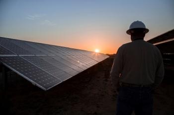 the 2 megawatts CoServ Solar Station