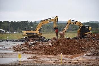 K-29 Building foundation slab