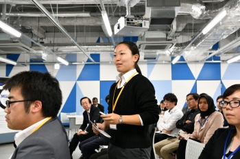 Participant at the Millennial Nuclear Caucus in Tokyo.
