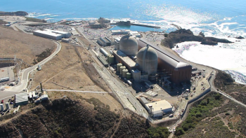 Aerial view of the Diablo Canyon nuclear power plant