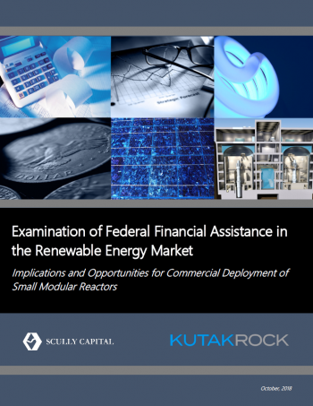 kutak rock report cover on implications for commercial deployment of SMRs.
