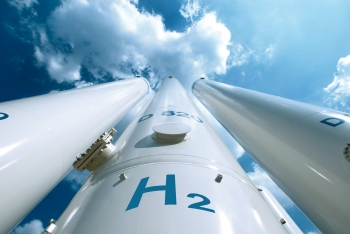 Gas pipeline for hydrogen