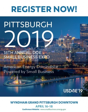 DOE2019 PITTSBURGH - REGISTER NOW