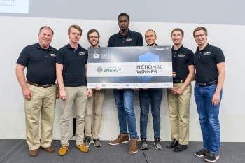 University of Central Florida win the 2018 CyberForce Competition