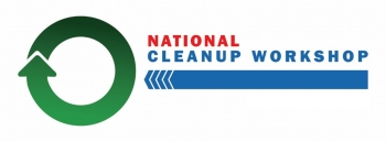 National Cleanup Workshop Graphic logo