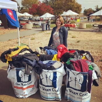 Sandia National Laboratories in California donated 150 coats to those in need in the surrounding area.
