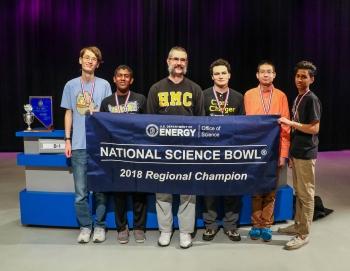 Clark High School science bowl team