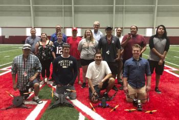 Students and faculty from the Advanced Manufacturing Summer Institute at the University of Nebraska–Lincoln.
