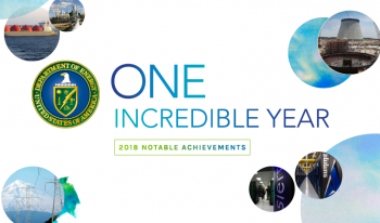 2018 Energy Department Accomplishments