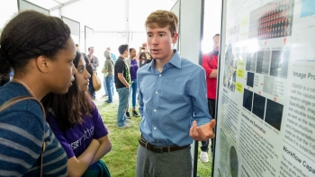 Argonne intern Connor Horn spent his summer at the Advanced Photon Source